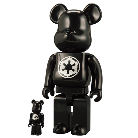 Star Wars Imperial Empire Logo 400% Bearbrick