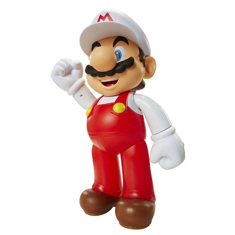 World of Nintendo: Fire Mario Jumbo Action Figure