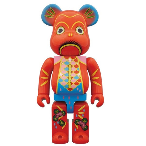 Bkingyo Tin Goldfish 400% Bearbrick