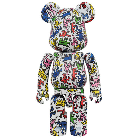 Keith Haring Super Alloyed 200% Bearbrick (PRE-ORDER)