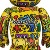 Keith Haring 5th Ver. 100% + 400% Bearbrick Set (PRE-ORDER)