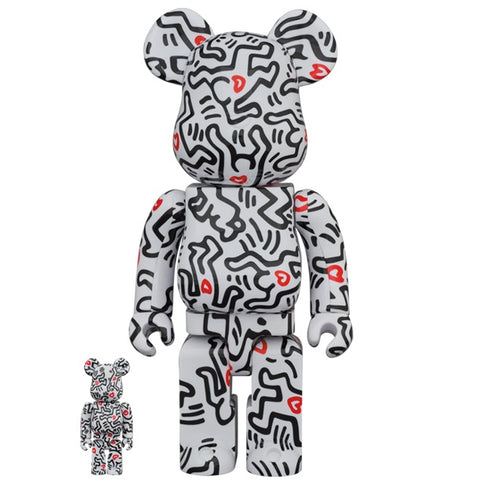 Keith Haring 8th Ver. 100% + 400% Bearbrick Set (PRE-ORDER)