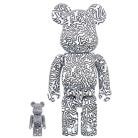 Keith Haring 4th Ver. 100% + 400% Bearbrick Set (PRE-ORDER)