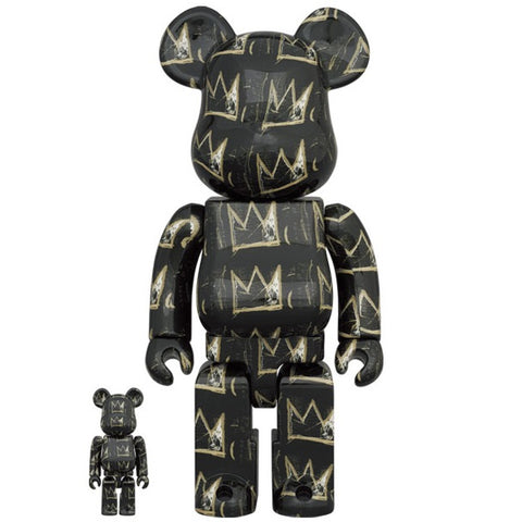 Jean-Michel Basquiat 8th Ver. 100% + 400% Bearbrick Set (PRE-ORDER)
