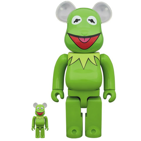 Kermit the Frog 100% + 400% Bearbrick Set (PRE-ORDER)