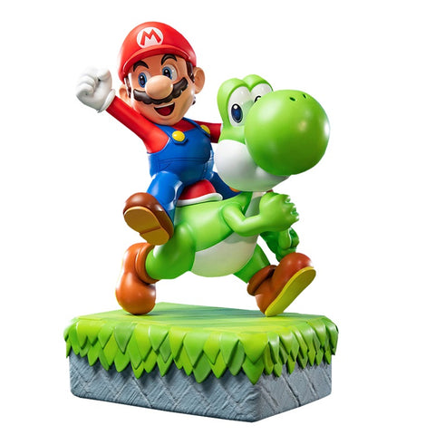 Super Mario & Yoshi Statue by First 4 Figures (PRE-ORDER)