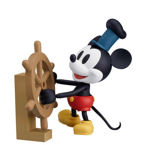 Mickey Mouse 1928 Ver. Color Steamboat Willie Nendoroid (PRE-ORDER)
