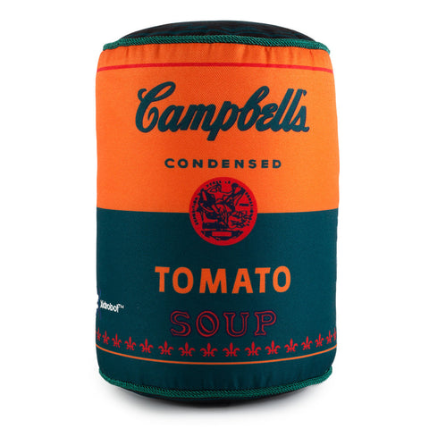 Campbells Tomato Soup Can Medium Plush by Andy Warhol