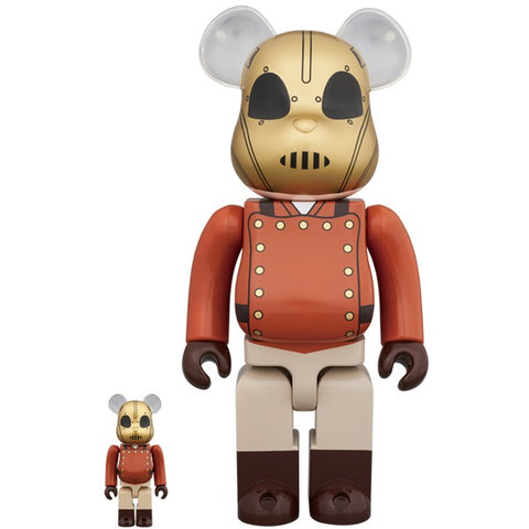 The Rocketeer 100% + 400% Bearbrick Set
