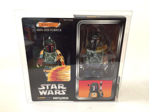 Bounty Hunter Japan x Star Wars Boba Fett 400% Kubrick BXH (2005) AFA 90 Grade