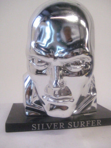 Silver Surfer 1:1 Life Size Bust by Alex Ross x Upper Deck