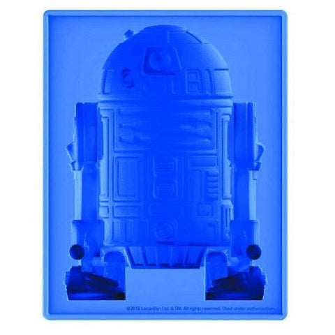 Star Wars R2-D2 Silicone Ice Cube Tray Jello Cookie Cake Mold by Kotobukiya NEW