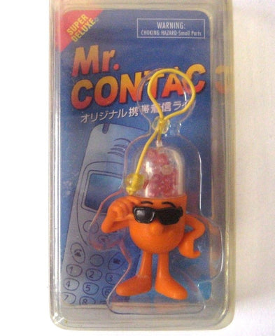 Mr. Contac Keychain Phone Strap Lanyard Advertising Japan Drug Mascot