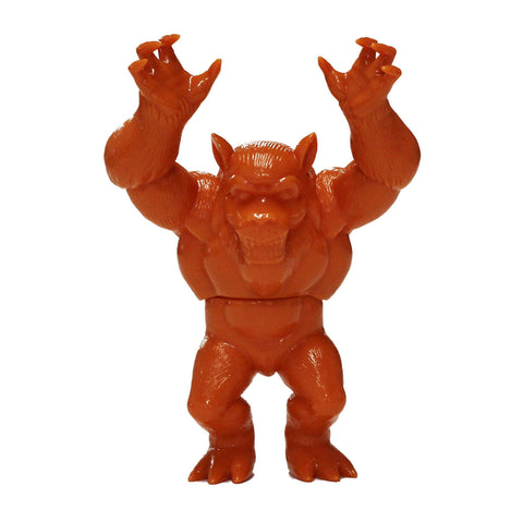 "Unpainted Orange Altar Beast 6"" Vinyl Figure by Monster Worship x Mark Rudolph"