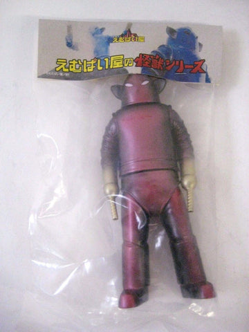 "Emupaiya Red PurpleGold Heater Robot 7"" Vinyl Figure sofubi kaiju NEW"