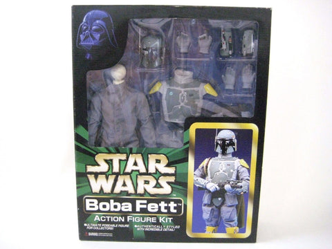 "STAR WARS Boba Fett 12"" Action Figure Kit by Marmit Tomy Japan NEW"