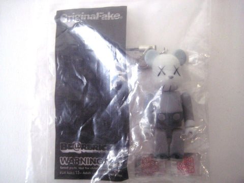 KAWS Dark Grey 70% Bearbrick by Medicom x OriginalFake (2011)