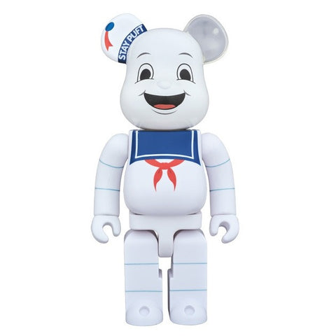 Ghostbusters Stay Puft Marshmallow Man 400% Bearbrick (PRE-ORDER)