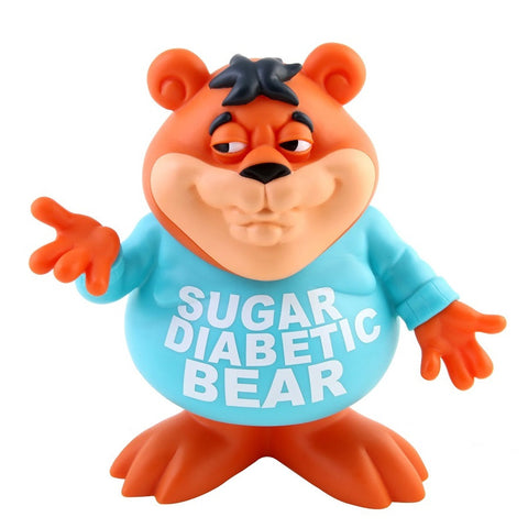 Sugar Diabetic Bear Vinyl Figure by Ron English