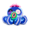Mr. Camo Blue Large Plush Octopus by Takashi Murakami