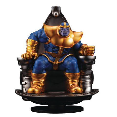 Marvel Thanos On Space Throne Fine Art Statue (PRE-ORDER)