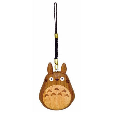 My Neighbor Totoro Big Wooden Charm Strap Keychain by STUDIO GHIBLI