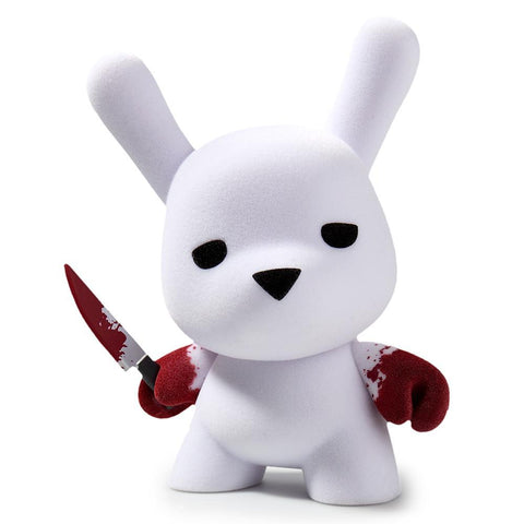 "Wannabe 5"" Flocked Dunny by Luke Chueh"