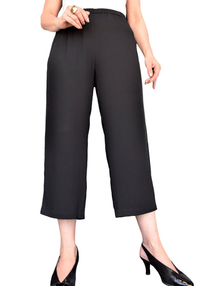 SYSTEM STRAIGHT CROPPED PANT