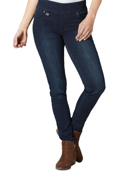 SYLVIA DENIM SLIM JEAN - LISETTE - STAPLE