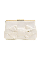 KNOTTED BOW CLUTCH - SONDRA ROBERTS