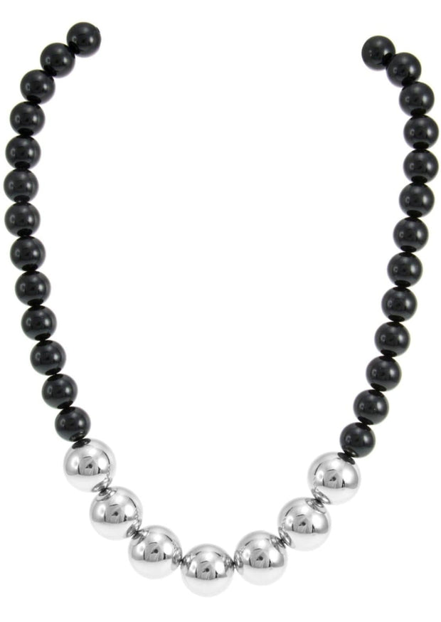 TWO TONE PEARL NECKLACE