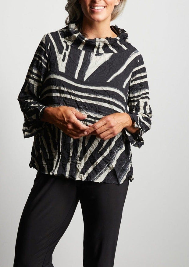 TRIBAL HAILEY PULLOVER - STONE
