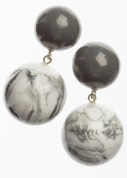 ZSISKA - MARBLE BOLAS DANGLE EARRING