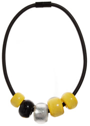 ZSISKA - OVERSIZED BEADED NECKLACE