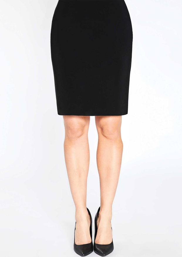 TUBE SKIRT SHORT - BLACK