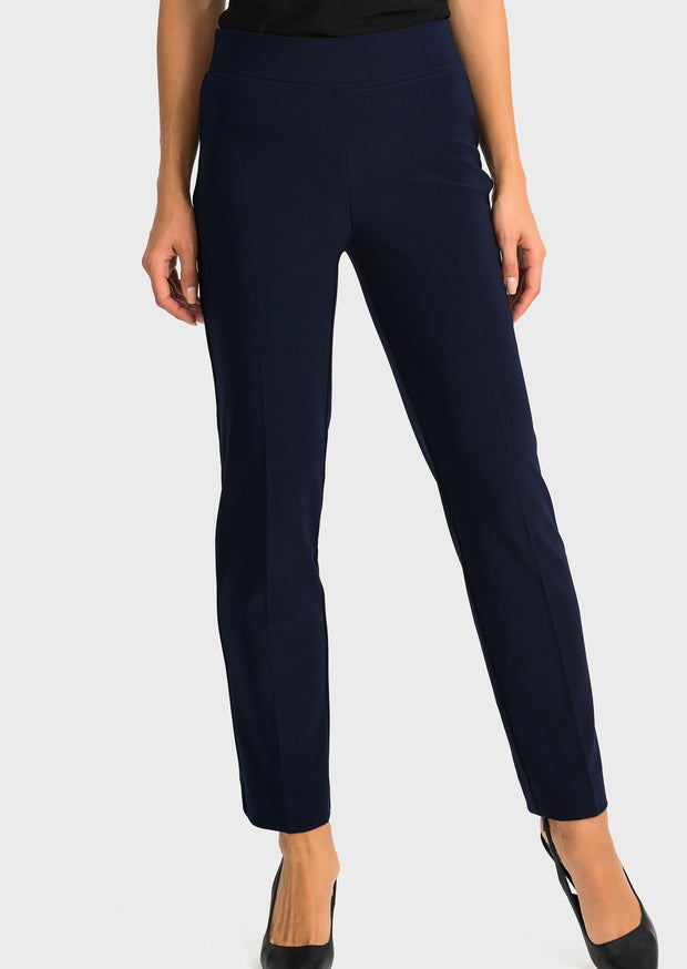 JOSEPH RIBKOFF - STRAIGHT LEG PANT - 143105 - MIDNIGHT BLUE