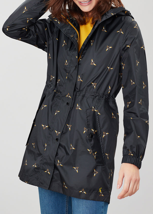 JOULES - BEE FOIL RAINCOAT