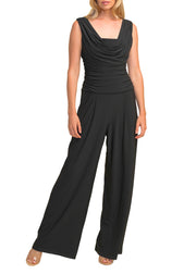 RUCHED TOP JUMPSUIT