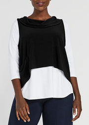 SYMPLI -  HALO SHORTY SMOCK TOP