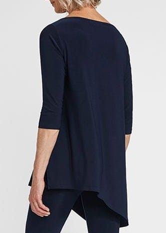 SYMPLI -  HALO ANGLE 3/4 SLEEVE TUNIC TOP