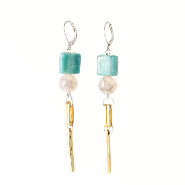 275816 Anne-Marie Chagnon Perry Earrings  Aquatic