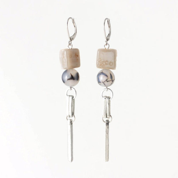 275884 Anne-Marie Chagnon Perry Earrings  Sand