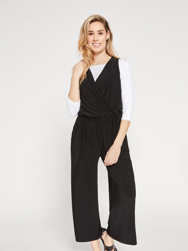 SPARK JUMPSUIT - BLACK