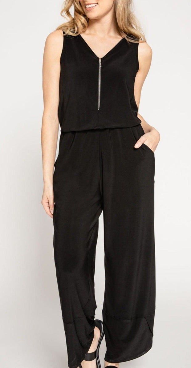 ZEST JUMPSUIT - BLACK