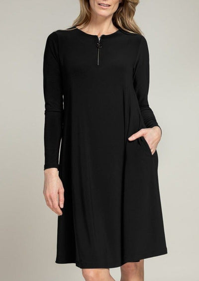 RETAIL STORE  STOCK ZEST DRESS  -  28110X-3 - BLACK
