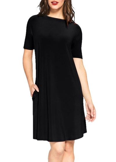 2895S-1 TRAPEZE DRESS (NI) - SYMPLI