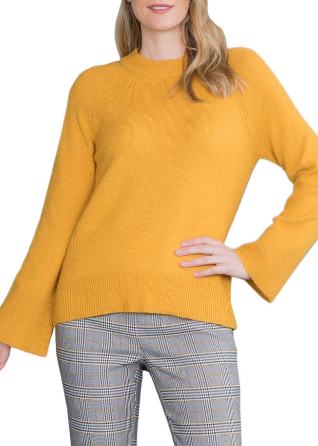RAGLAN SLEEVE LARGE CUFF SWEATER