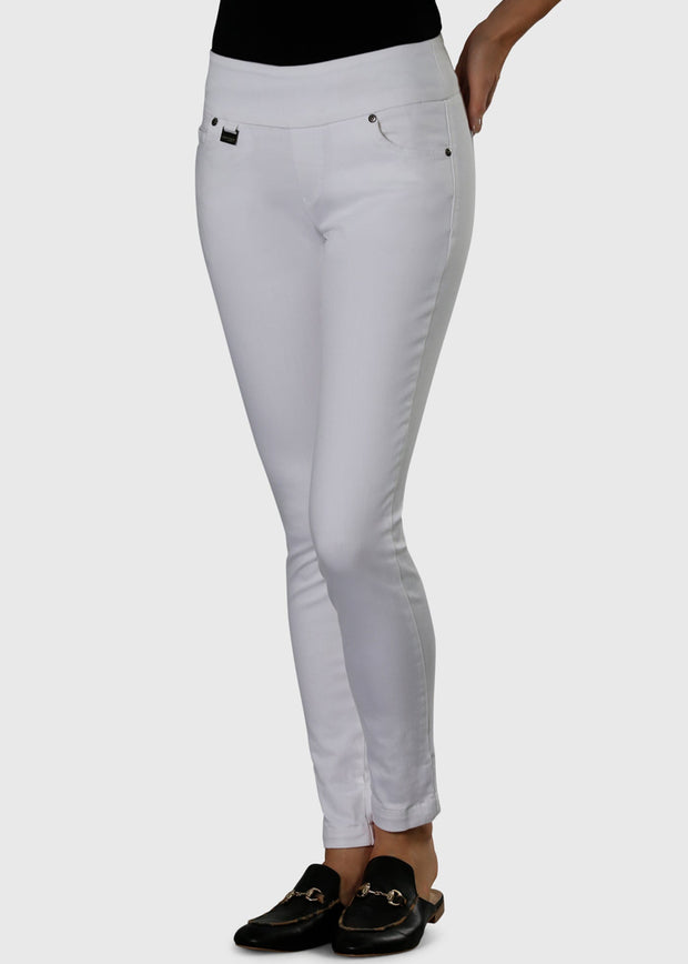 LISETTE - BETTY DENIM SLIM JEAN - WHITE