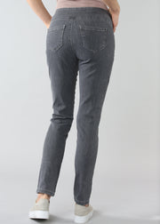 LISETTE - BETTY DENIM SLIM JEAN - CHARCOAL