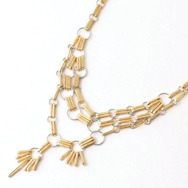 461047 Anne-Marie Chagnon Rosie Necklace  Gold